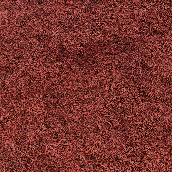 Red Hardwood Mulch bulk